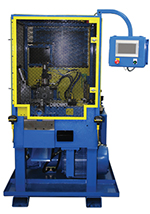 Tube end forming machine Model M7-H-6.