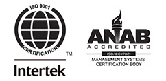 Manchester Tool & Die is ISO 9001:2015 Certified and ANAB Accredited